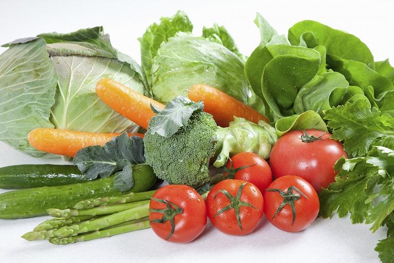 自家製で無農薬の食材